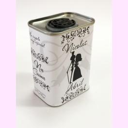 "Lata Miniatura de Aceite ""Gothic Bride"""