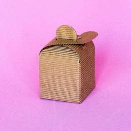Caja Cuadrada Kraft