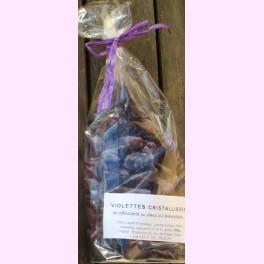 Violetas Cristalizadas 100 gr.