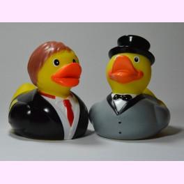 """Pareja de Patitos de Goma """"Clyde and Richard"""""""